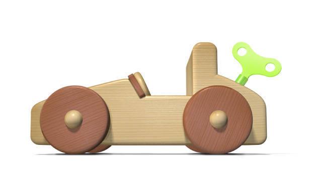اسباب بازی چوبی کودکان