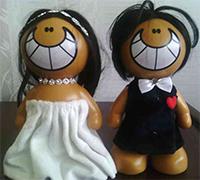 خرید کلی عروسک عروس و داماد