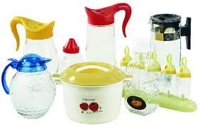 فروش انبوه ظروف شیشه ای